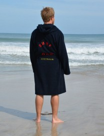 Black Adult Beach/Bath Robe